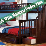 TOP 6 Bunk Beds With Mattress Under $200
