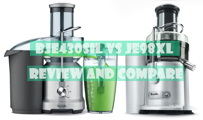 Breville BJE430SIL vs Breville JE98XL review and compare