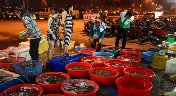 Ba Cuong seafood restaurant