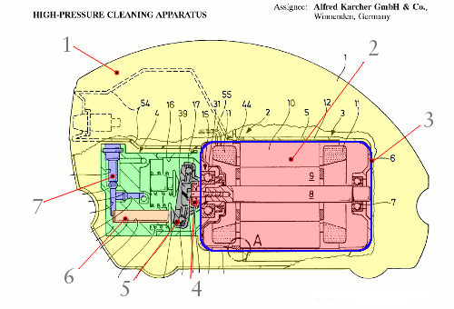 pressure washer karcher patent
