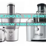 Breville BJE200XL vs JE98XL – Review and Compare Juice Fountain Compact vs Plus
