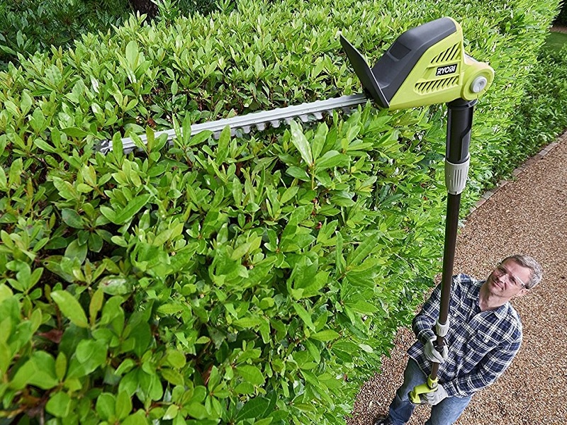 Best Cordless Pole Hedge Trimmers Reviews In 2019